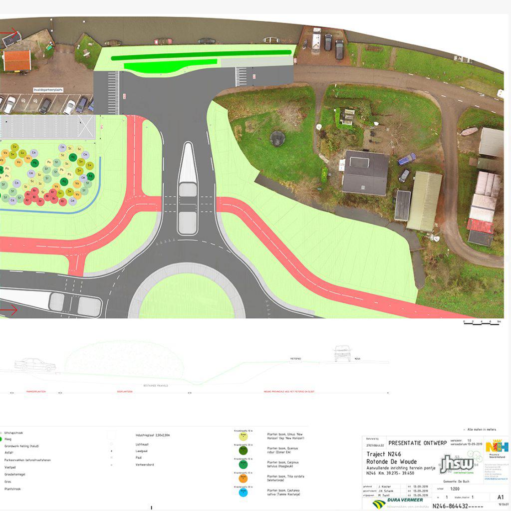Presentatie-kleurenprestatie-perpectief-3D-modellen-de-landmeters-jhsw-delandmeters-wolkenlucht-groen